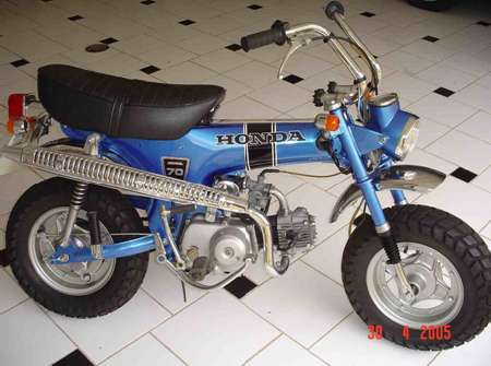 H St Remaza M on 1973 Honda 50cc